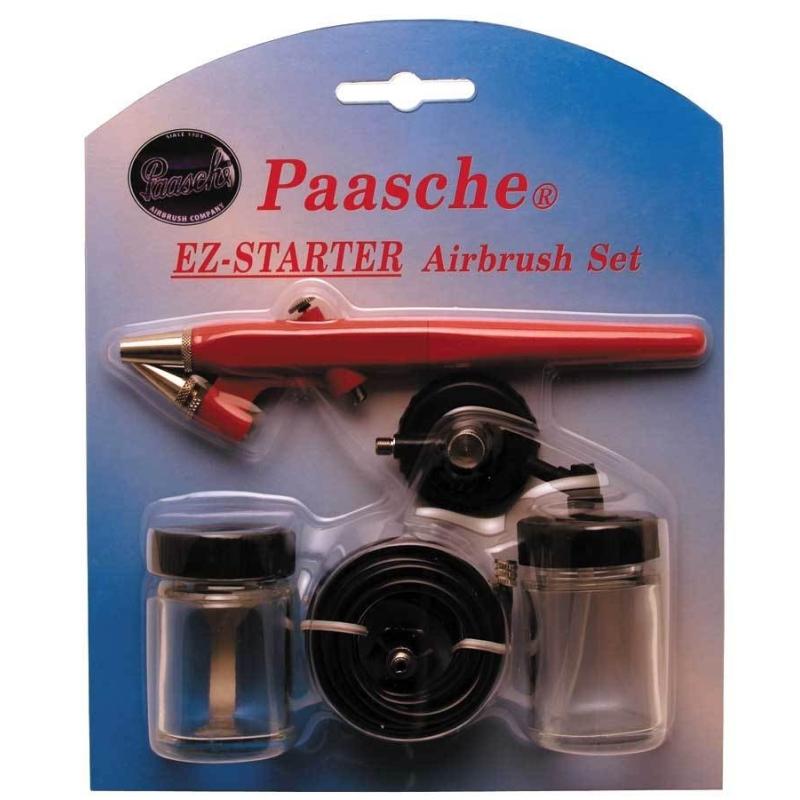 EZ Airbrush Card Set , Starter-Kid , Paasche Airbrush