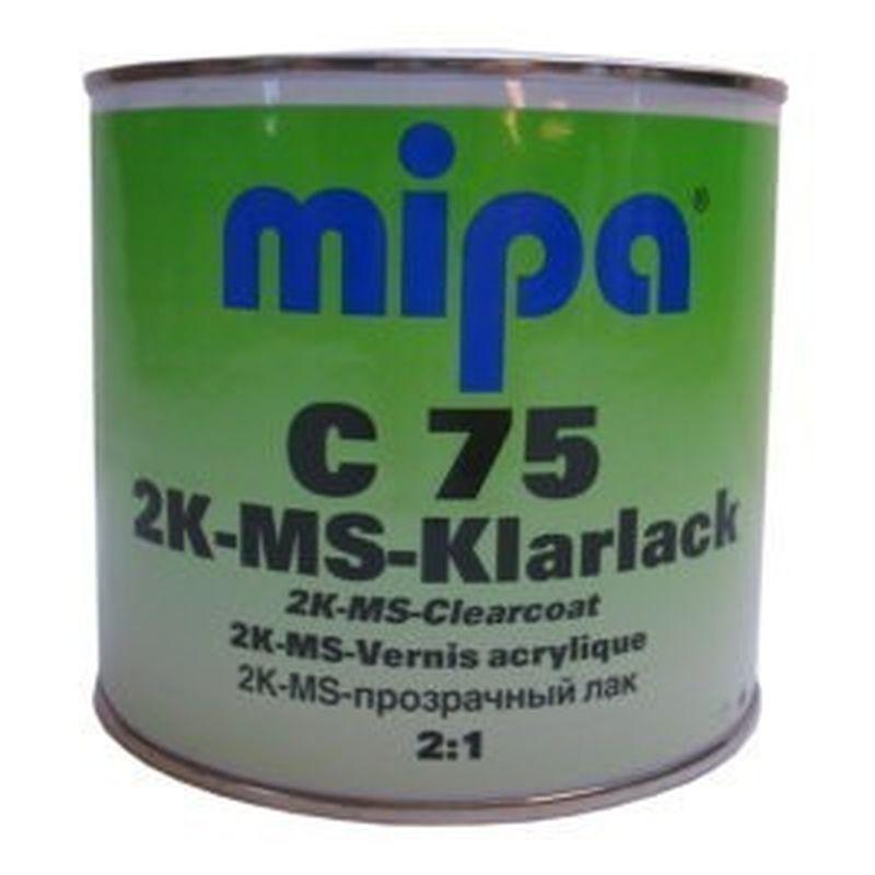 Mipa 2K-MS Klarlack C75 , 0,5 Liter 232400000