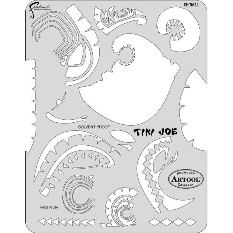 artool - Tiki Joe - Schablone - Tiki Master II 200 389