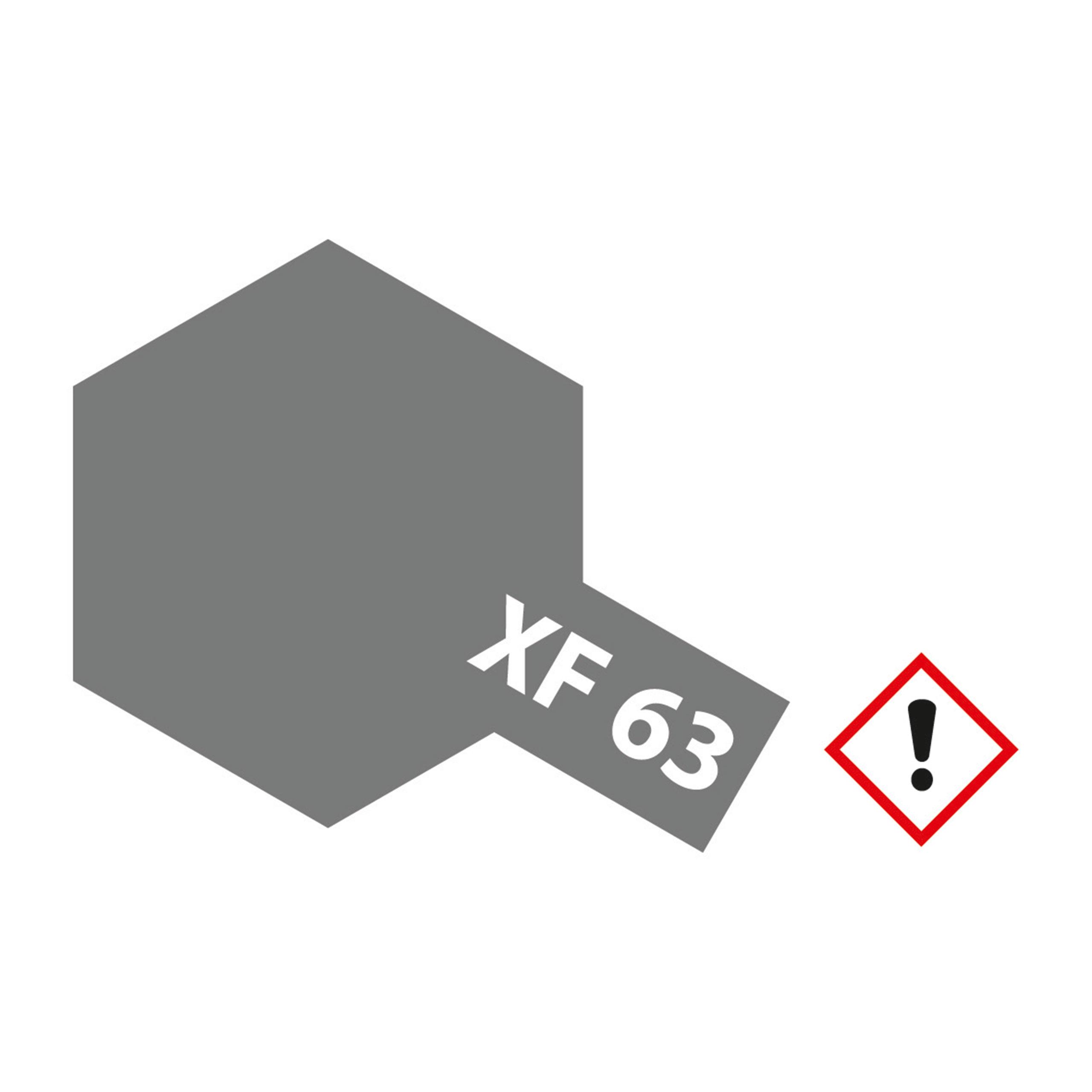 XF-63 German Grau matt - 23ml Acrylstreichfarbe wasserloeslich Tamiya 300081363