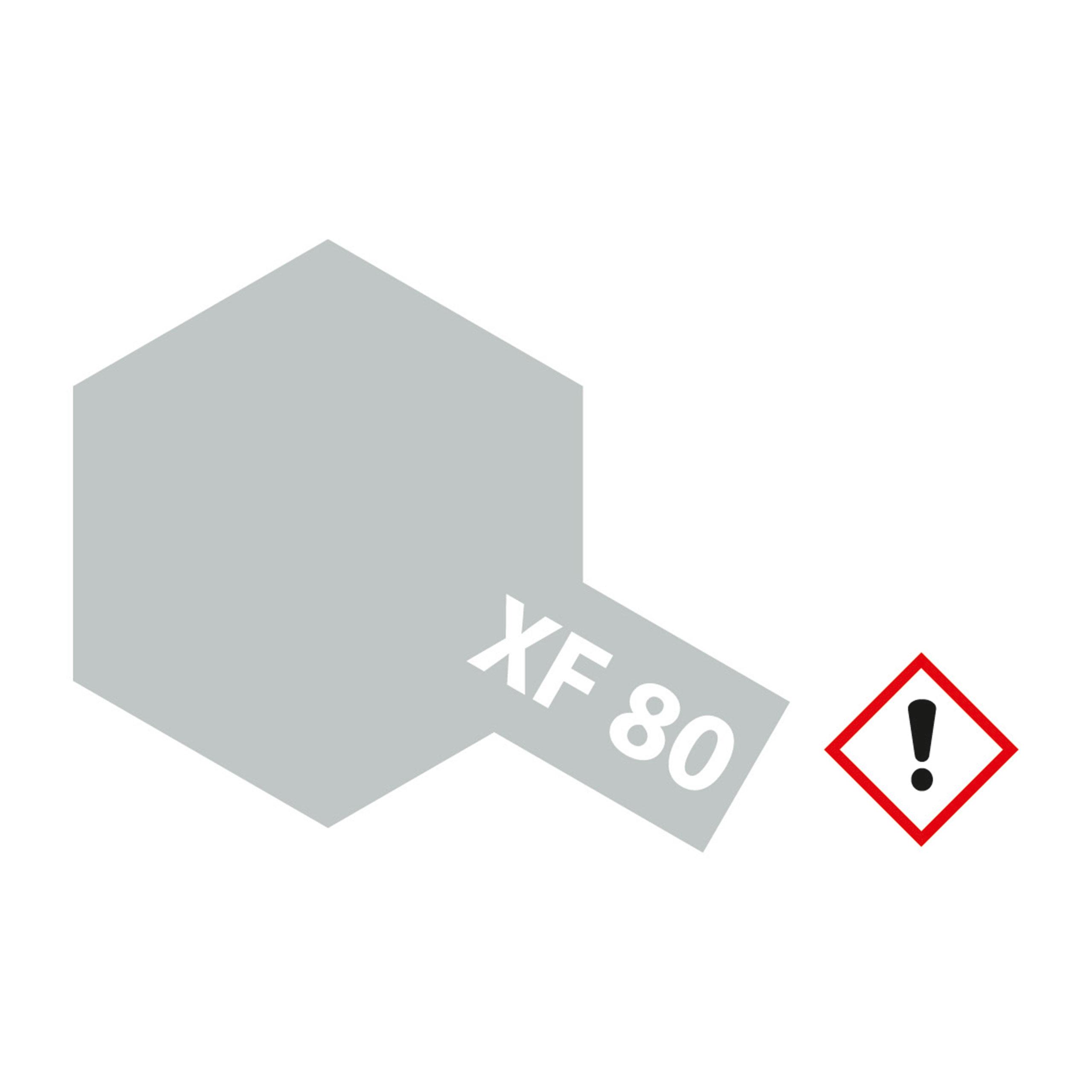 XF-80 Brit. Marine Grau matt - 10ml Acrylstreichfarbe wasserloeslich Tamiya 300081780