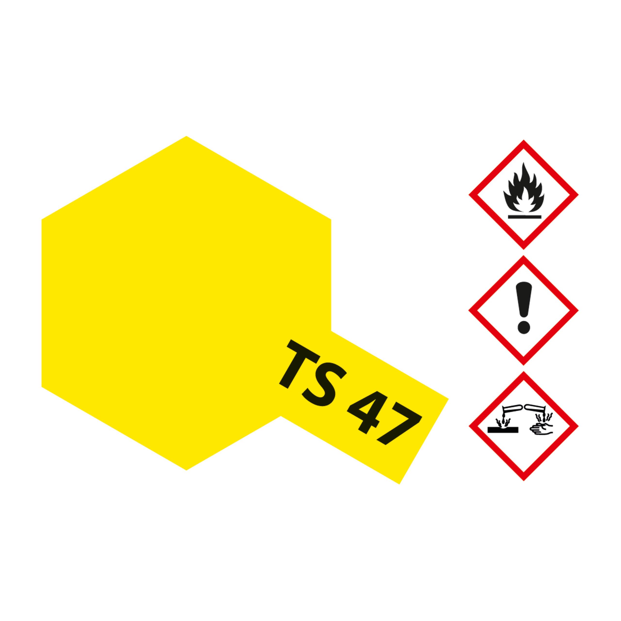 TS-47 Chromgelb glaenzend - 100ml Sprayfarbe Kunstharz Tamiya 300085047