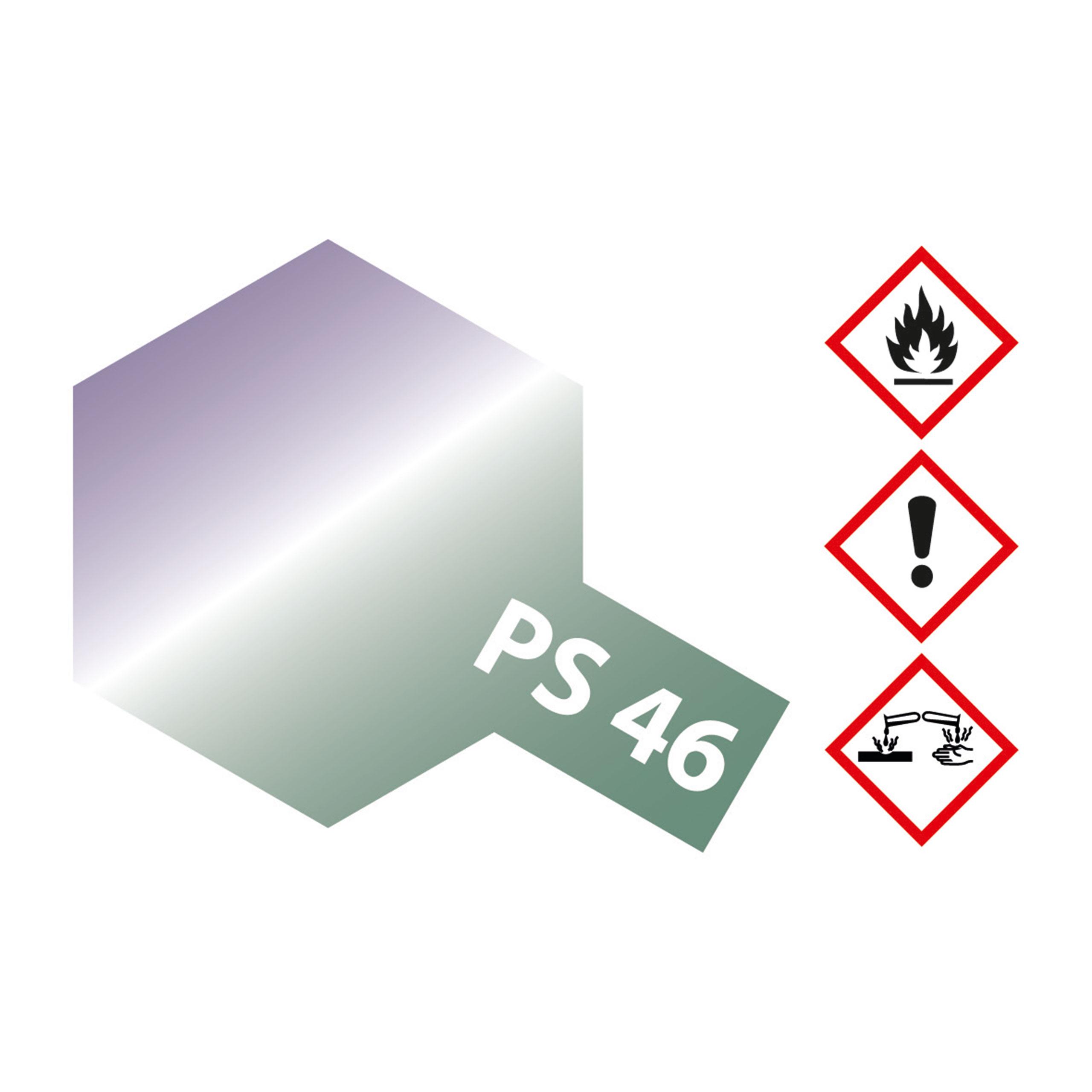 PS-46 Grün-Violett schillernd Poly. - 100ml Sprayfarbe Lexan - Tamiya 300086046