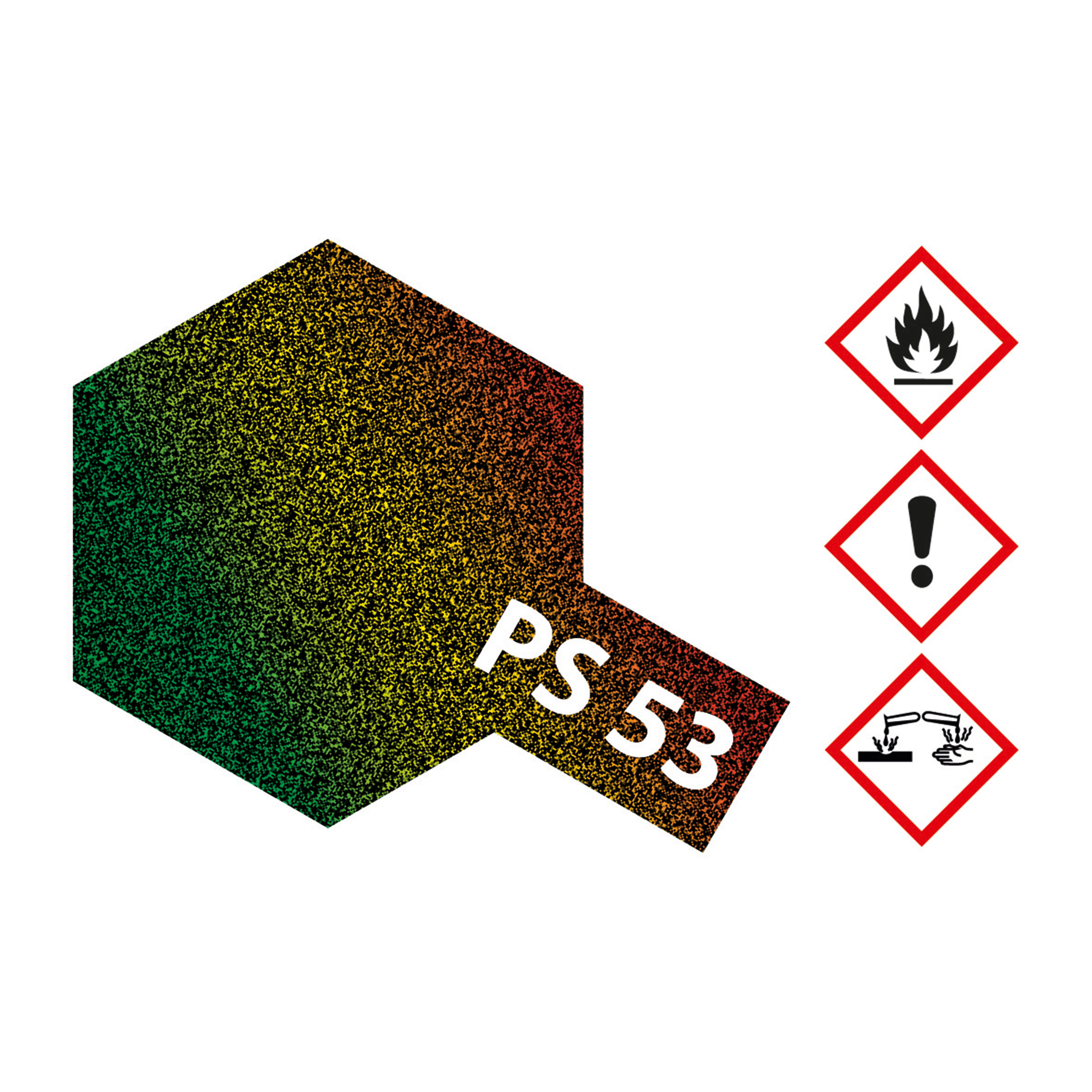 PS-53 Lame Flake Transp.schil.Poly. - 100ml Sprayfarbe Lexan - Tamiya 300086053