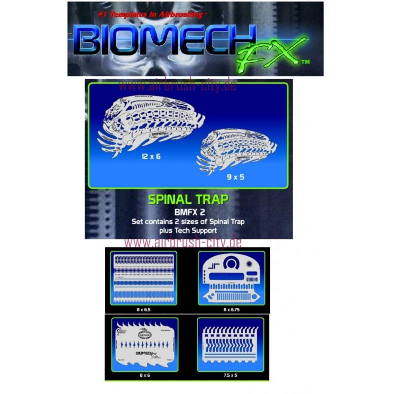 artool- Biomech FX Spinal Trap - Schablonenset 200 497