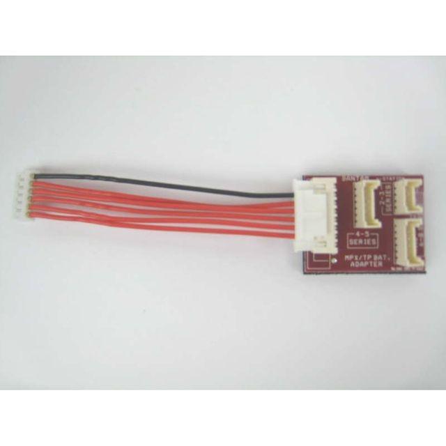 Adapterplatine MPX auf Grupner 58600 Muldental