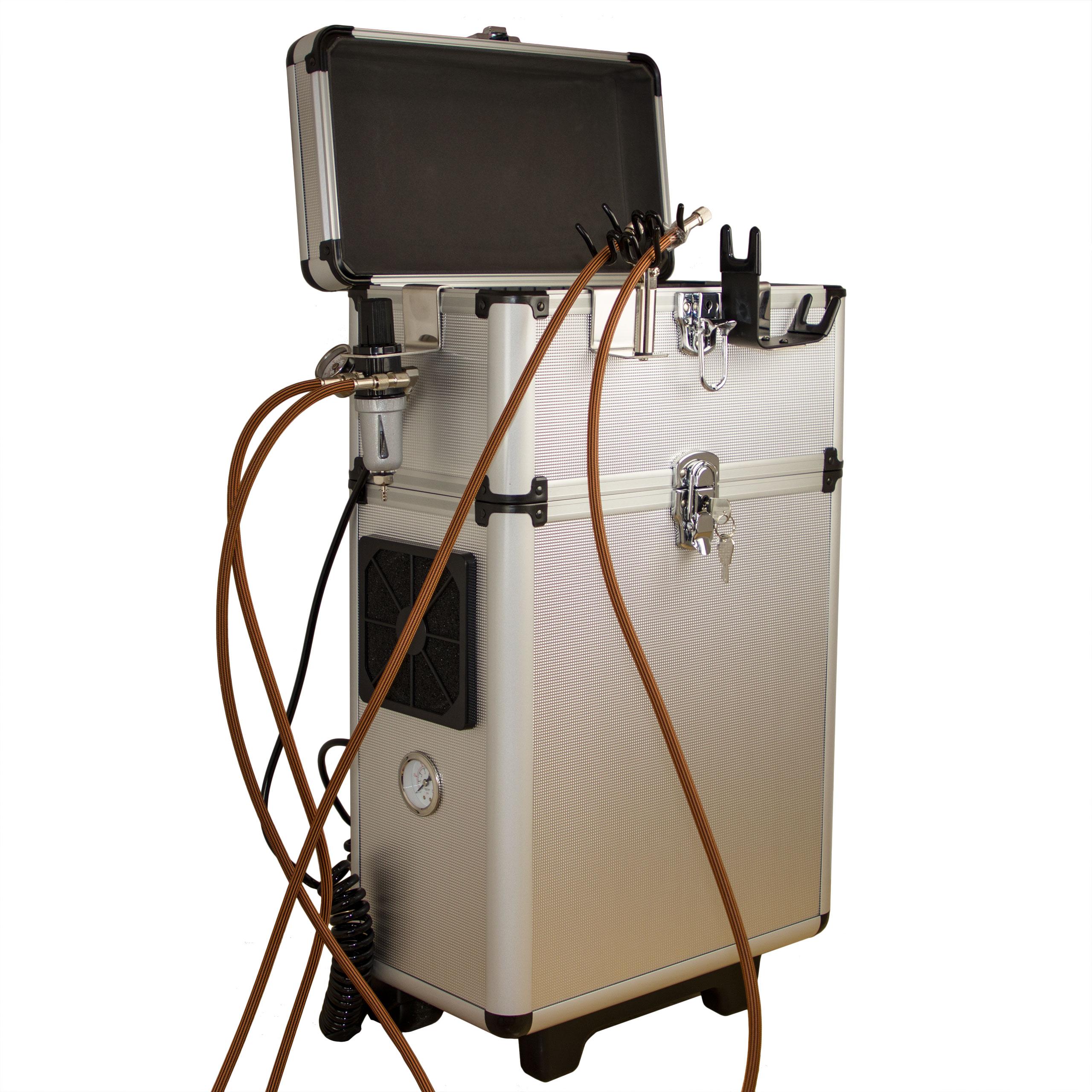 Sparmax MB-620 Airbrush Kompressor im Koffer