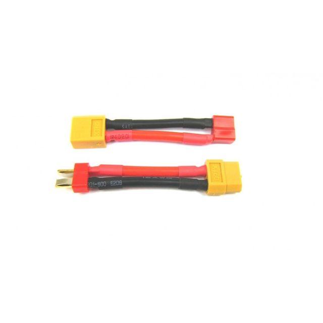 Adapterset XT60 auf T-Plug Stecker und Buchse Adapter 5cm