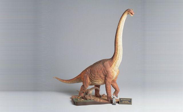 Tamiya 1:35 Brachiosaurus Diorama Set
