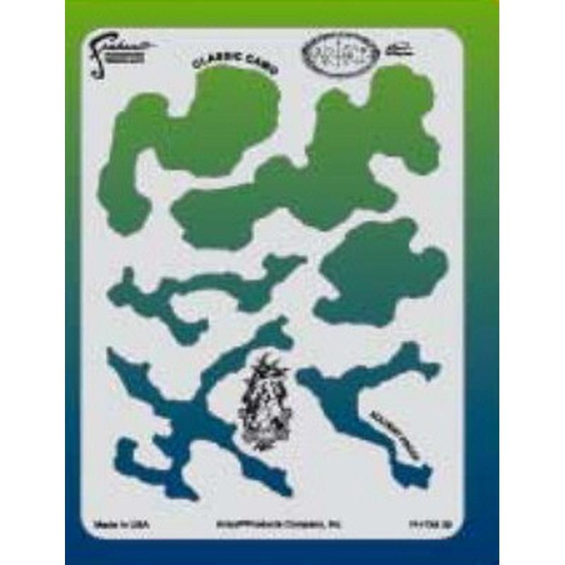 artool - Createx Airbrush Colors Camo - Schablone FX 4 200 460