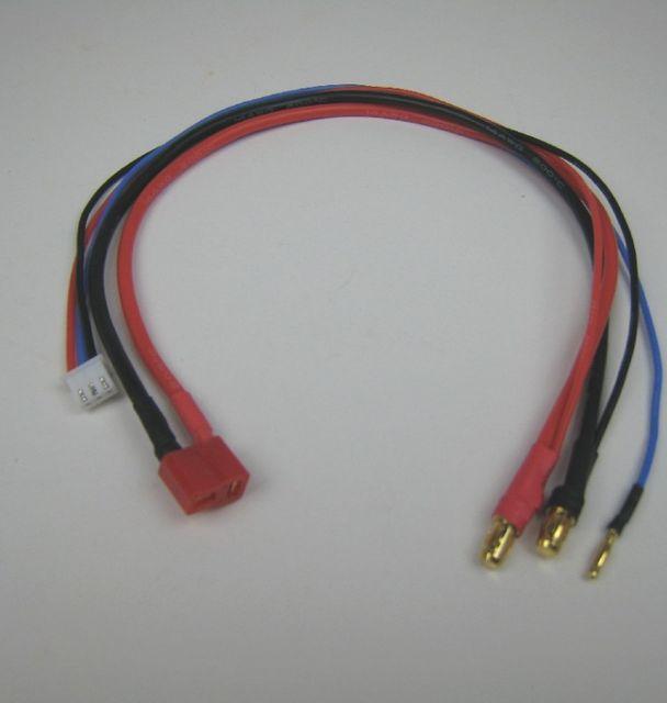Adapterkabel T-Plug Buchse auf 2S Lipo Hardcase Adapter