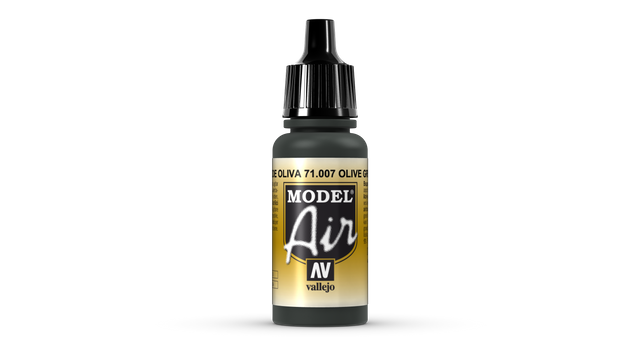 Grün (Olivgrün) 007 Vallejo Model Air 17ml Airbrush Farbe