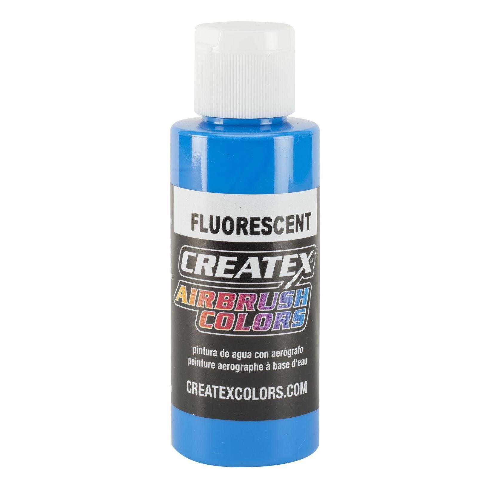 fluorescent blue Createx Airbrush Colors Farbe 60ml 11 5403 Createx