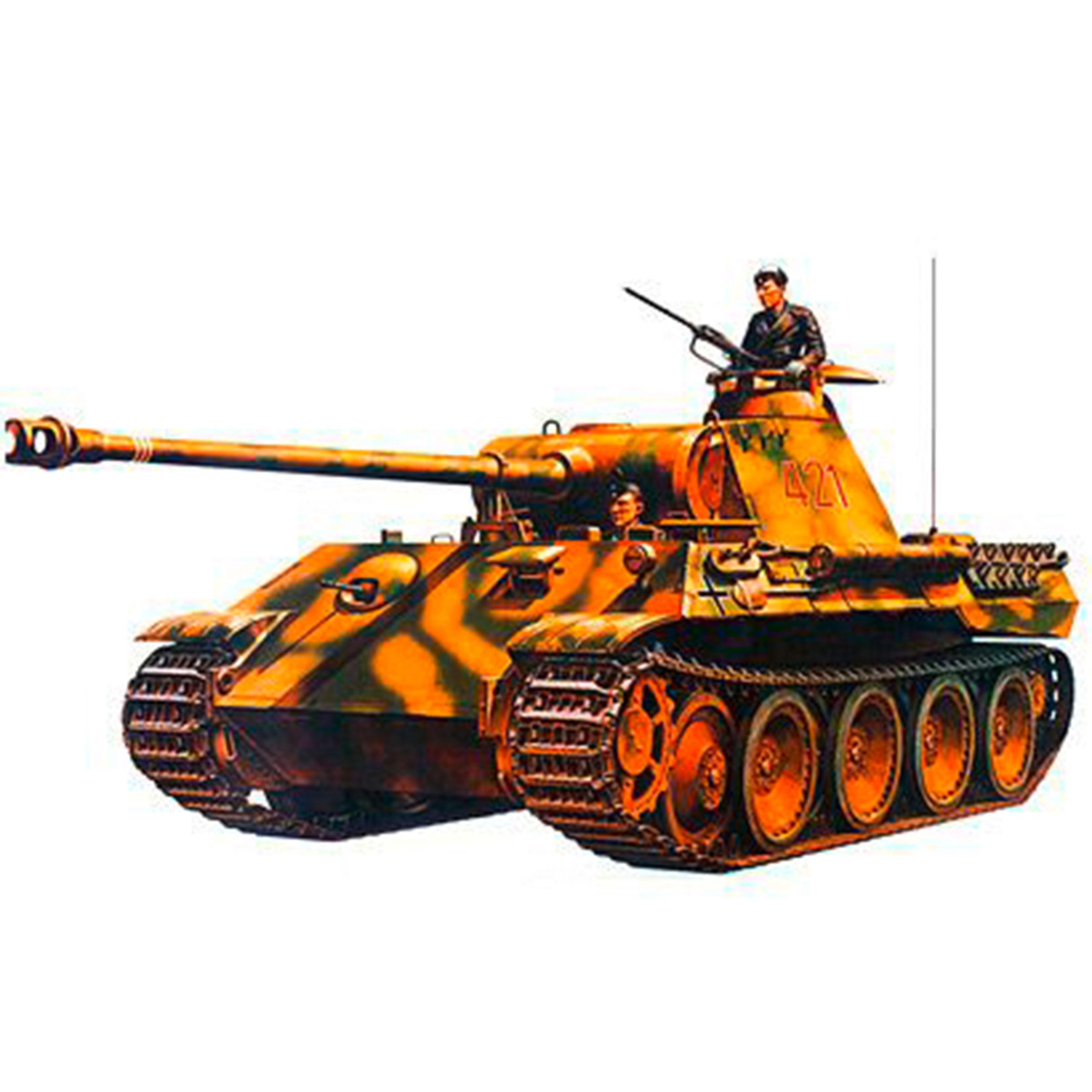 Tamiya 1:35 WWII Deutsches. SonderKfz.171 Panther 300035065
