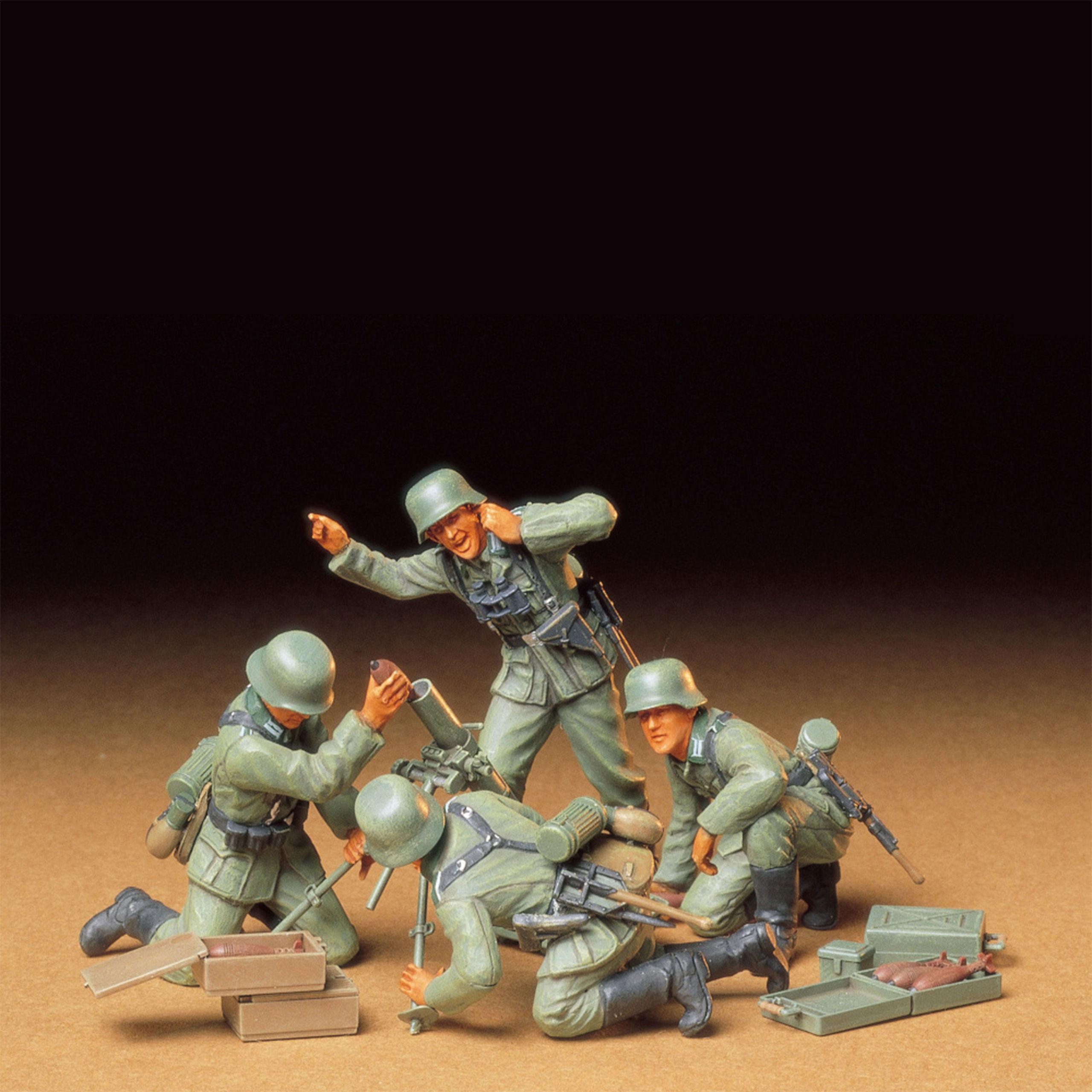 Tamiya 1:35 WWII Fig.-Set Dt. Mörser-Trupp 300035193