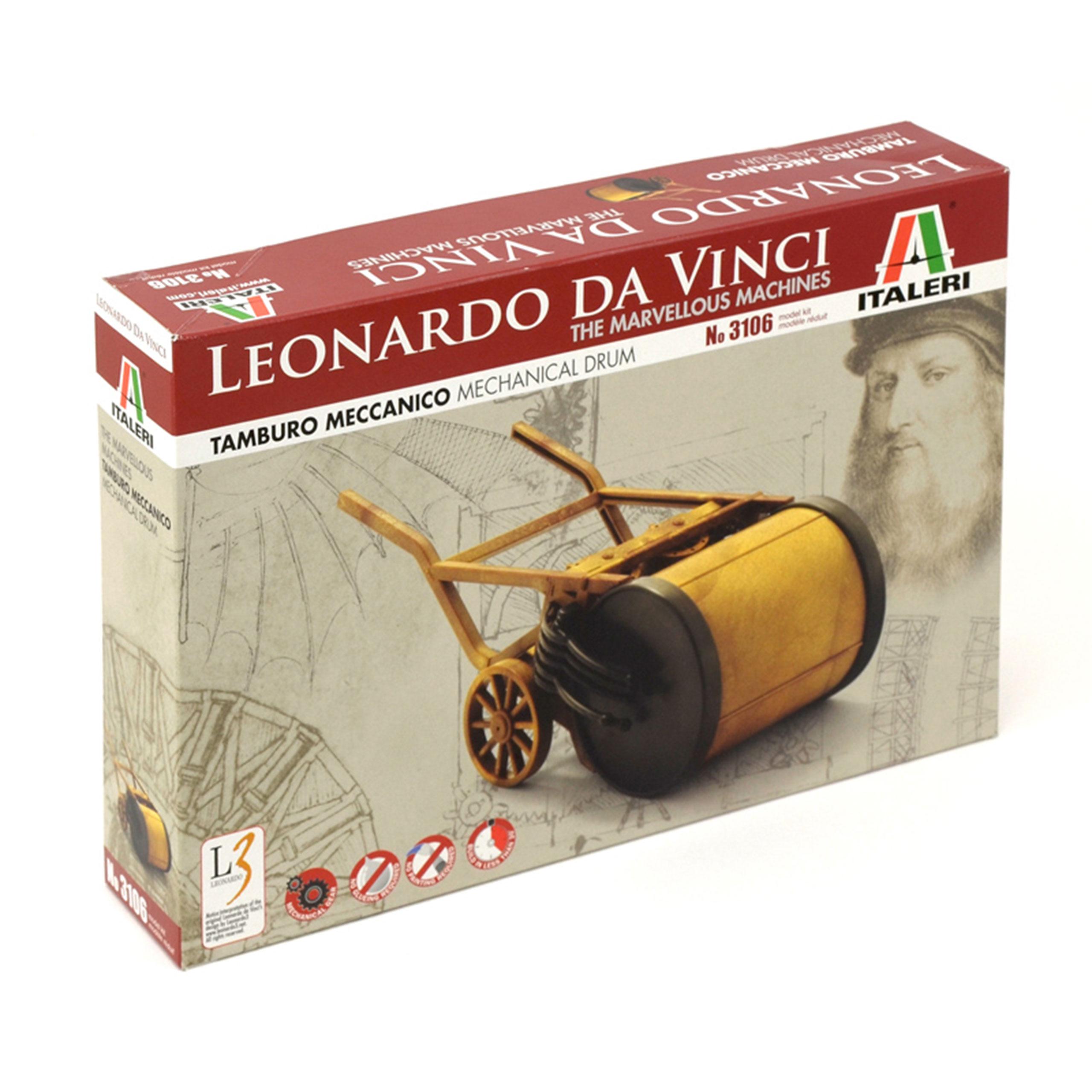 ITALERI Leonardo da Vinci Mechanische Trommel 510003106 3106