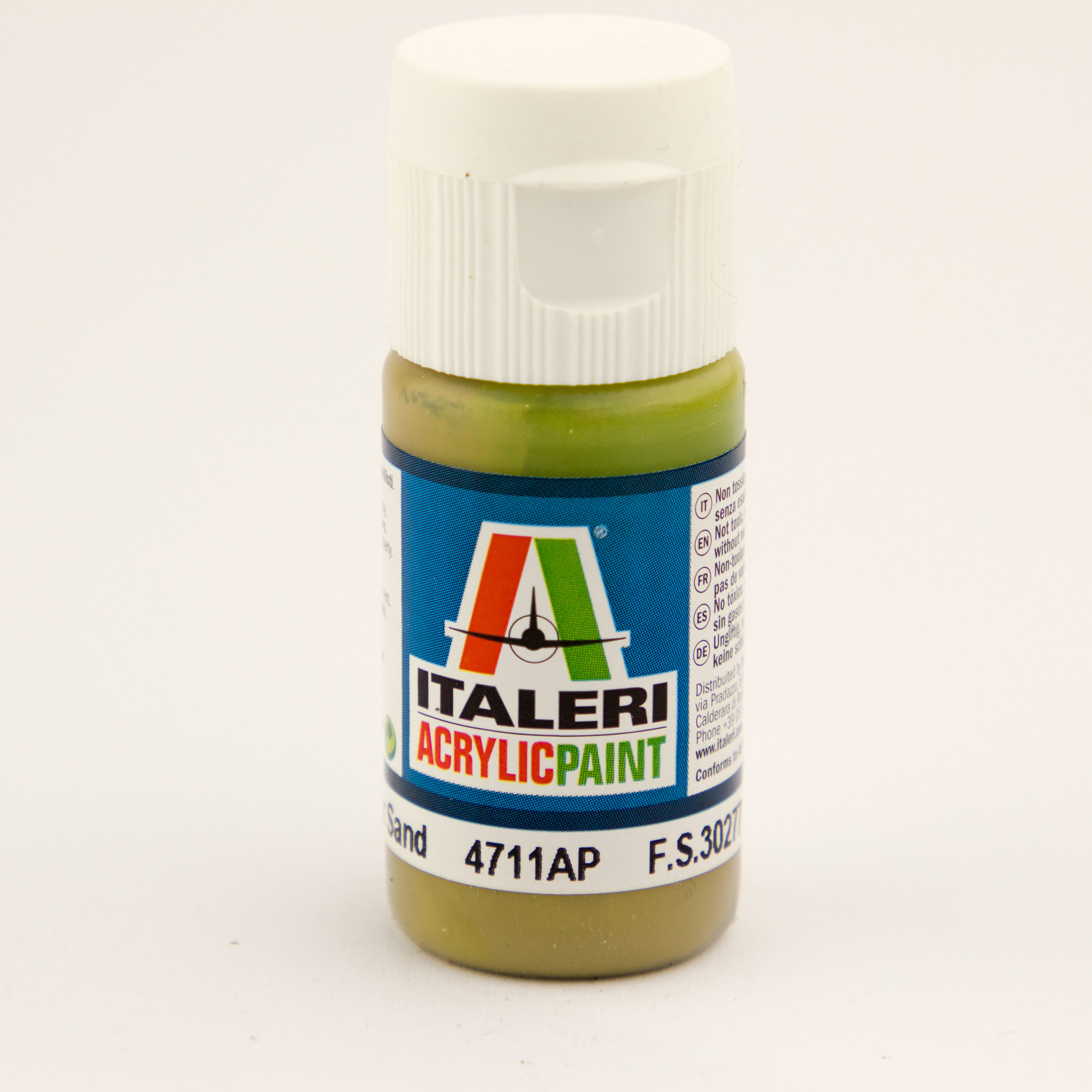 Italeri IT Acrylfarbe 4711 Armor Sand matt 20 ml Airbrush Farbe