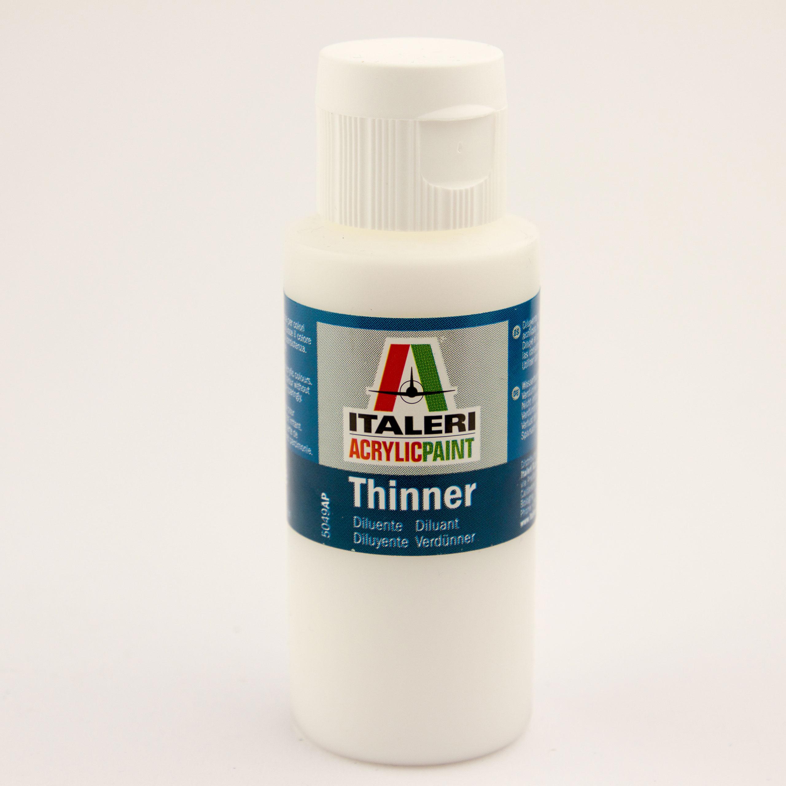 Italeri IT Acrylfarbe 5049 Verdünner 60 ml Airbrush Farbe