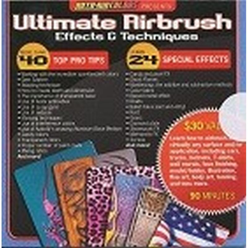 Createx AutoAir Effects & Techniques DVD 220 001